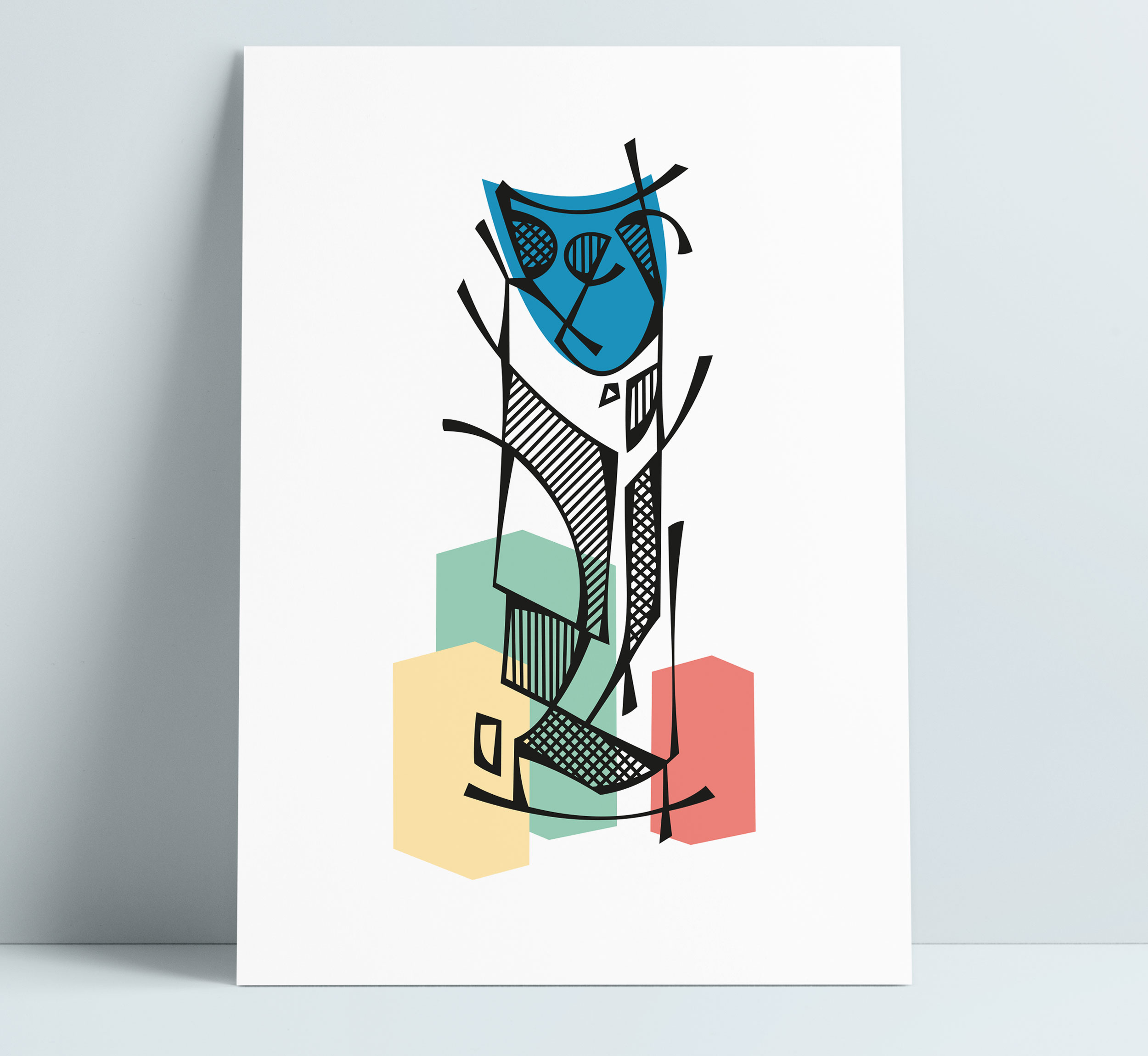 London Strata SE1 (The Razor) Illustration Art Wall Decoration